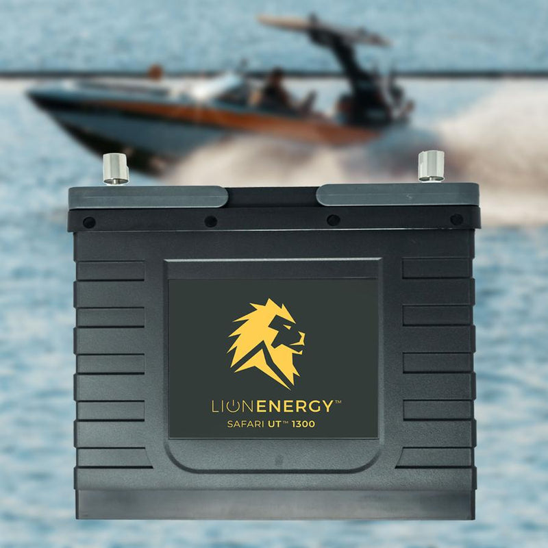 Lion Safari UT 1300 12V 105Ah Lithium Iron Phosphate (LiFePO4) Battery