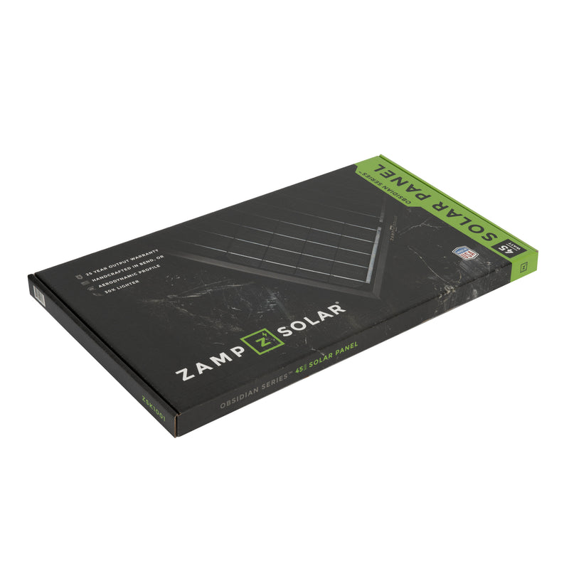 Zamp Solar Obsidian 90 Watt Solar Panel Kit (2X45)