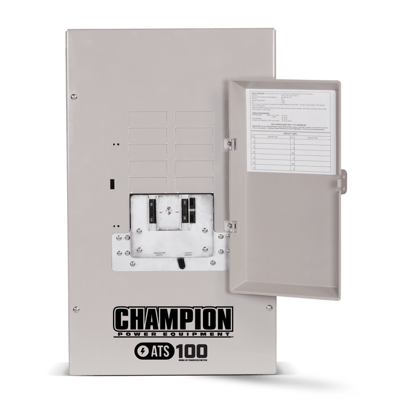 Champion 14kW Home Standby Generator with 200-Amp Whole House Switch with Demand Control