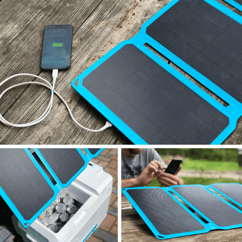 GoSun Chill Solar Cooler and 30W Solar Panel