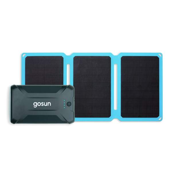 GoSun Solar Panel and Powerbank