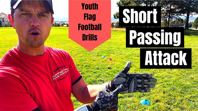 Youth Flag Football Drills for Kids | Creating a Short Passing Attack