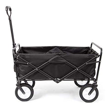 Load image into Gallery viewer, Mac Sports Collapsible Folding Outdoor Utility Wagon, Black