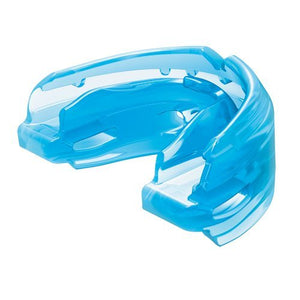 Shock Doctor Double Braces Mouth Guard – Upper and Lower Teeth Protection – Mouthguard No Boil / Instant Fit – For Youth, Teenager, Kids and Adults. Mouth Piece OSFA. Tether Strap Included