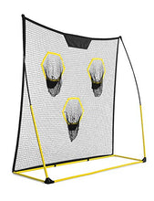 Load image into Gallery viewer, SKLZ Quickster Portable Football Training Net for Quarterback Passing Accuracy (7x7 Feet)