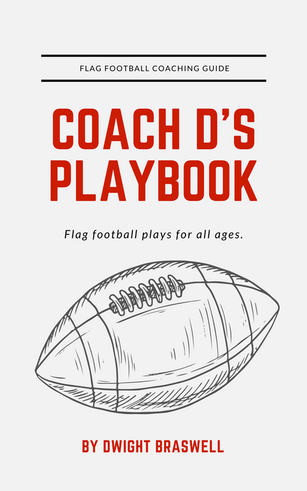 Coach D's FULL Flag Football Playbook (120 Plays + Templates)