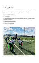 Load image into Gallery viewer, Coach D's FULL Flag Football Playbook (120 Plays + Templates)