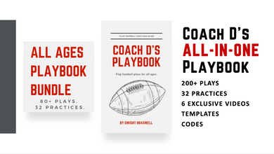 Coach D's ALL-IN-ONE Playbook Bundle