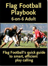 Load image into Gallery viewer, 6-on-6 Adult Flag Football Playbook