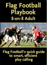 Load image into Gallery viewer, 8-on-8 Adult Flag Football Playbook