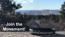Load image into Gallery viewer, #BeAnEncourager Bracelet - Join the Movement!
