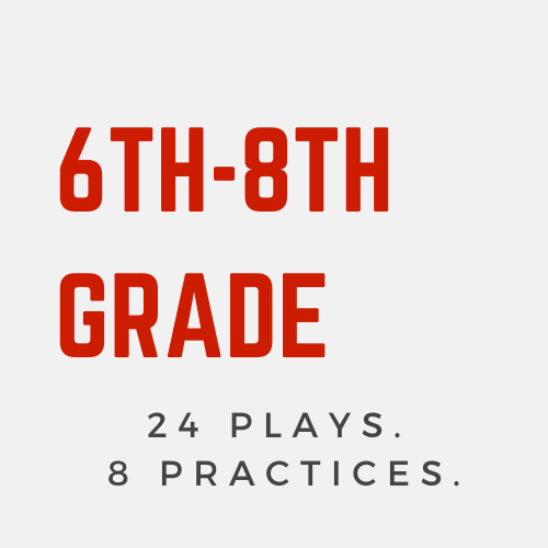 Practices & Plays: 6th-8th Grade
