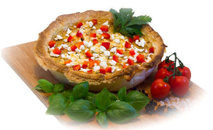 Quiche des Tages Healthy Catering