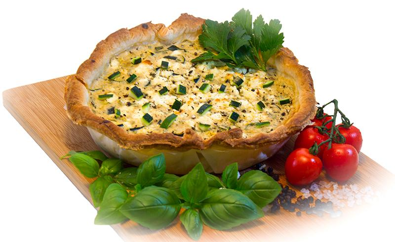 Laden Sie das Bild in den Galerie-Viewer, Quiche Zucchini-Feta