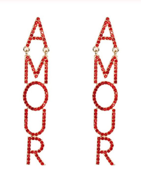 AMOUR Statement Earrings