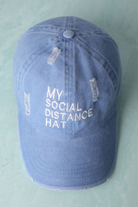 My Social Distance Cap