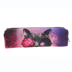 Sunglasses Cat Pencil Case