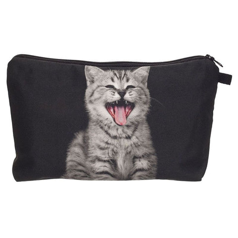 Smily Cat Make-Up Bag