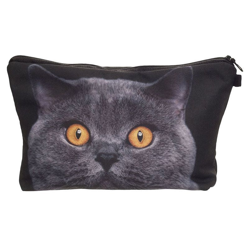 Cat Big Eyes Make-Up Bag