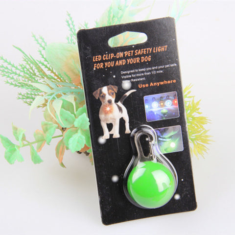 Pet LED Green Night Pendant