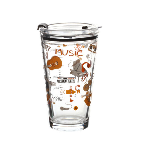 Music Glass Cup