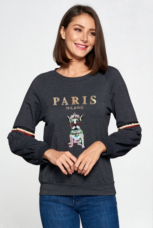 Paris Milano Dog Pullover