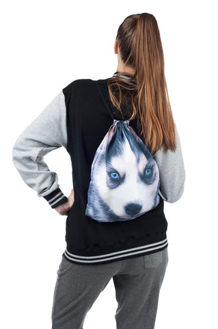 Husky Drawstring Bag
