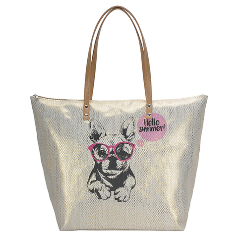 Hello Summer French Bulldog Bag