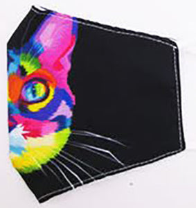 Colorful Cat Cover