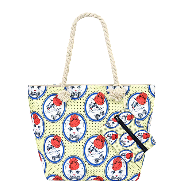 Aristocat Yellow Tote Bag