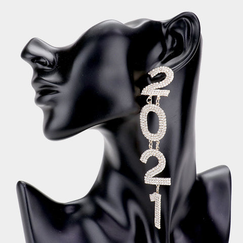 2021 Golden Statement Earrings