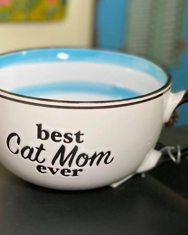Best Cat Mom Ever Jumbo Mug
