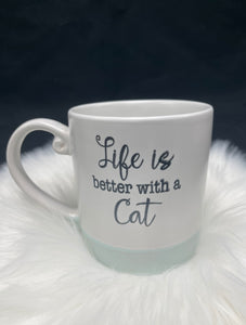 Love is Better with a Cat Mug