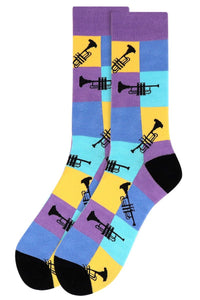 Trumpet Colors Men's Socks