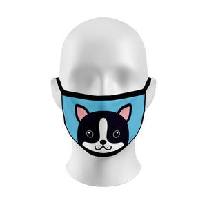 Boston Terrier Blue Cover