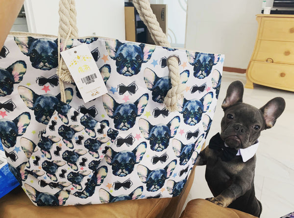 French Bulldogs Life Tote Bag