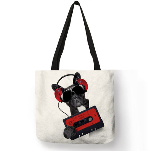 Music Bulldog Bag