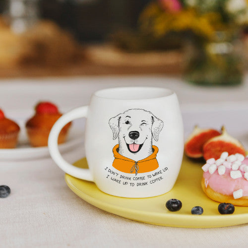 I Don't Drink Coffee to Wake Up... Labrador Mug