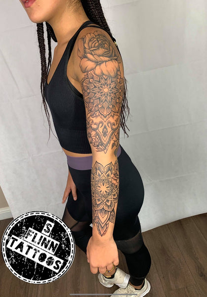 Dotwork Sleeve By Shaun.