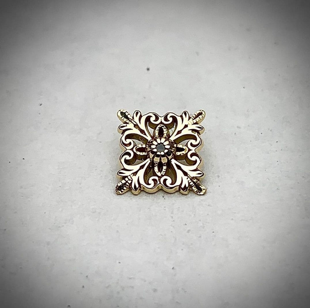 Kiwi jewelry square mini shield