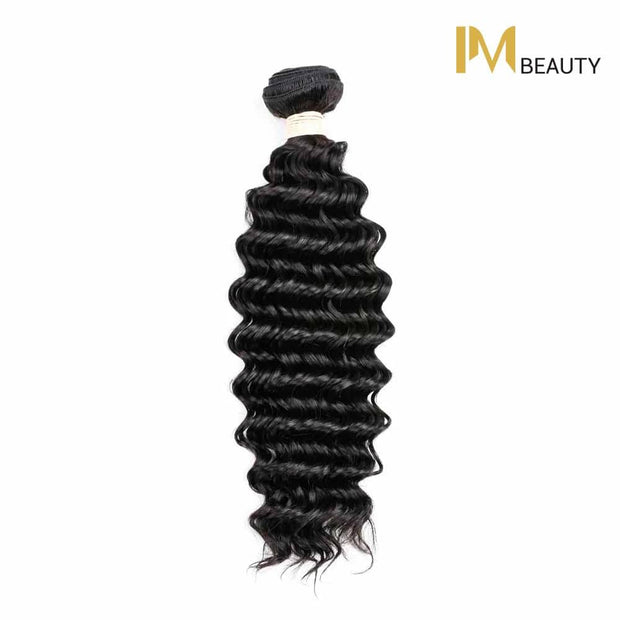 IM Beauty 8A Deep Wave 100% Human Hair Weaves - IM Beauty
