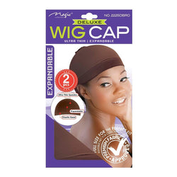 Magic Deluxe Ultra Thin Stocking Wig Cap - IM Beauty