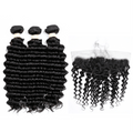 8A Deep Wave 3 Bundles with Frontal - IM Beauty
