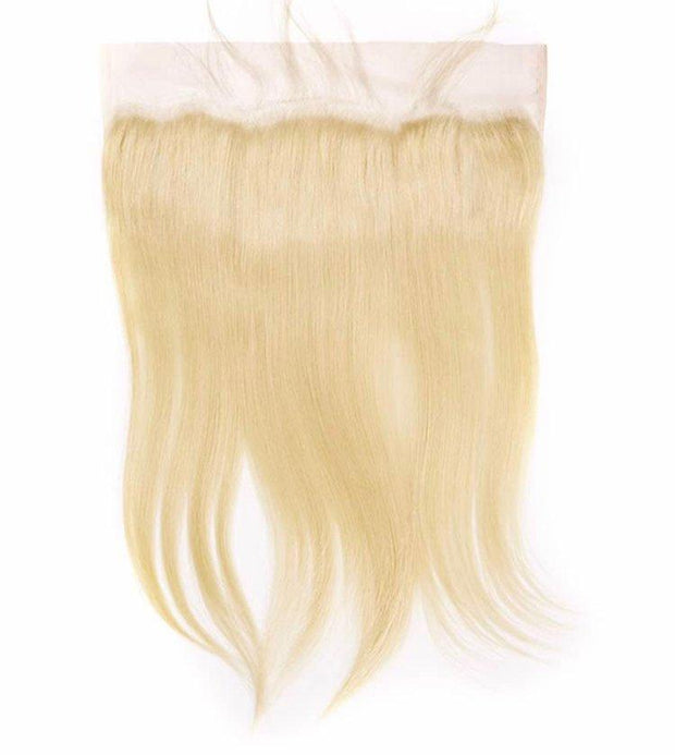 IM Beauty 8A Blonde 613 Straight 100% Human Hair 4*13 Frontal - IM Beauty
