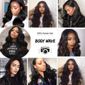 8A Body Wave 3 Bundles with Free Part Closure - IM Beauty