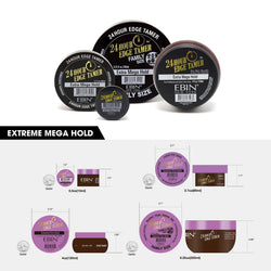EBIN New York 24 Hour Edge Tamer Extra Mega Hold (edge control) - IM Beauty