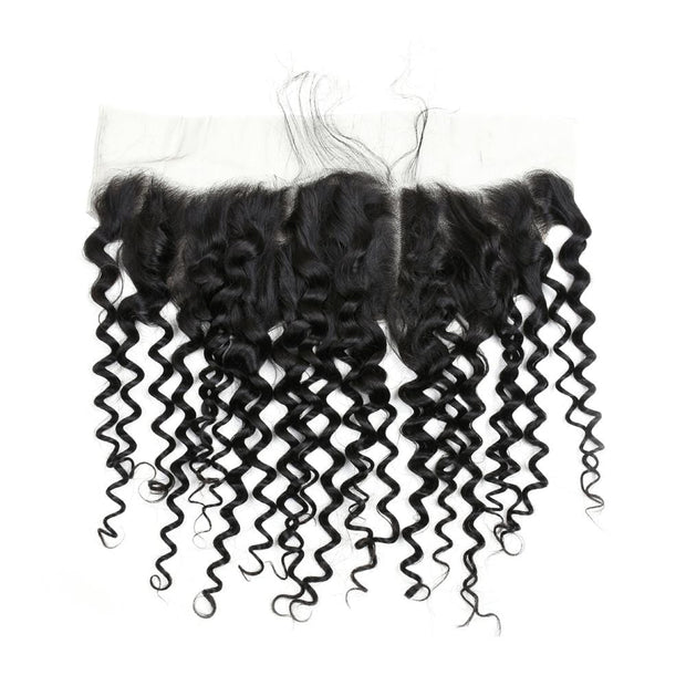 IM Beauty 8A Deep Wave 100% Human Hair 13*4 Lace Frontal - IM Beauty