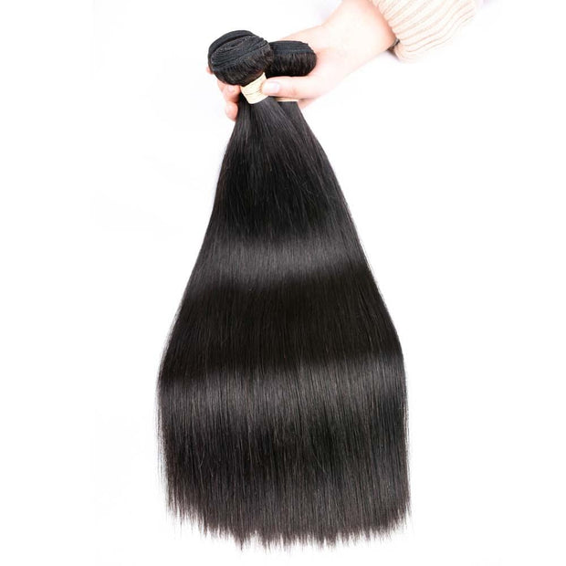IM Beauty 8A Straight 100% Human Hair Weaves - IM Beauty