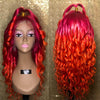 Pink Sherbet - Lace Front Wig Made by Jahanah