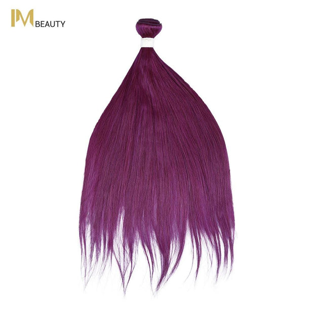 IM Beauty 8A Silver Grade 100% Indian Human Hair Bundle Purple - IM Beauty